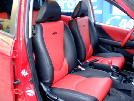 Imagens Land Rover >> Courotec Recaro no ABC   Revestimento banco em couro Honda Fit - Nosso Portfolio