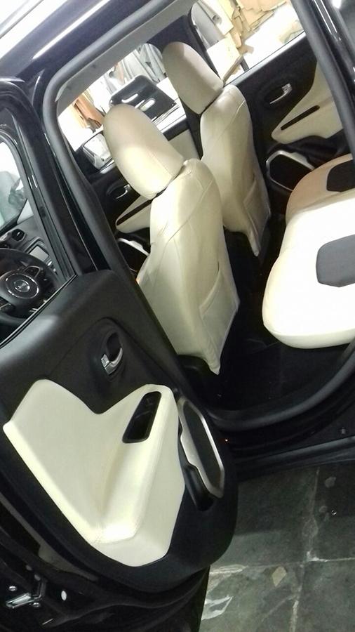Courotec Recaro no ABC | Revestimento banco em couro Jeep ...