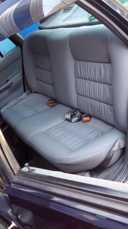 Courotec Recaro no ABC | Revestimento em couro Volkswagen Santana 95 Restauração - Nosso Portfolio